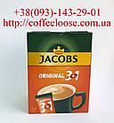 Кофе Jacobs 3в1 Original 24 пакетика × 12 г. Кофе Якобс 3в1 Ориджинал 288 г.