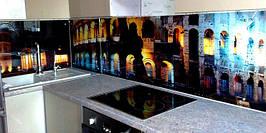 Скляний кухонний фартух Колізей купити в Кіровограді