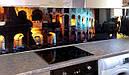 Стеклянный кухонный фартук Колизей купить в Кировограде, фото 2