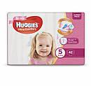 Подгузники Huggies Ultra Comfort Jumbo для девочек Размер 5 (12-22кг)42 шт, фото 5