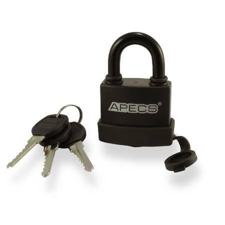 Замок навесной APECS PDR-50-45 в резине
