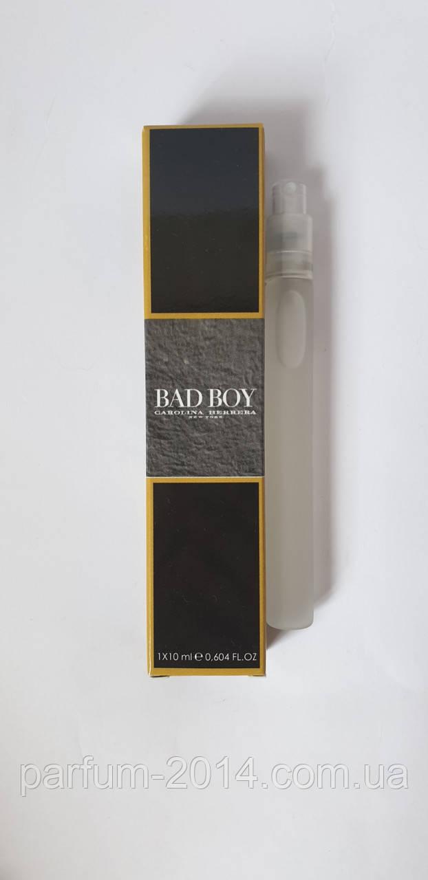 Мини парфюм Carolina Herrera Bad Boy 10 мл (реплика)