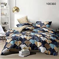 Комплект постельного белья Selena Любовный лабиринт 100360 Полуторный комплект Двуспальный евро комплект