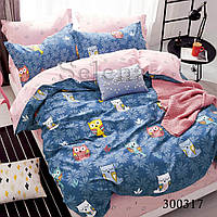 Комплект постельного белья Selena Совята 300317 Полуторный комплект