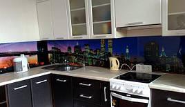 Скляний кухонний фартух місто купити в Кривому Розі