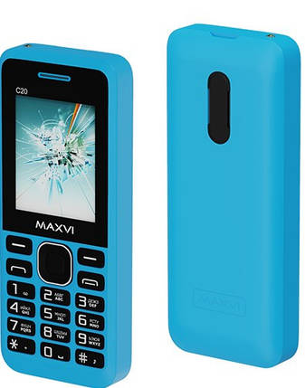 Мобильный телефон Maxvi C20 Blue, фото 2