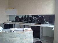 Стеклянная стеновая панель для кухни купить в Полтаве