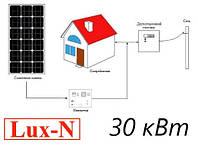 """Мережева сонячна електростанція 30 кВт, 380 В, під """"зелений тариф""""., фото 1"""