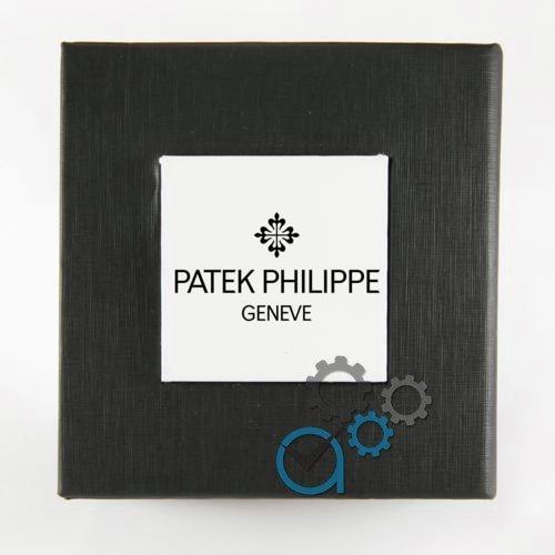 Коробочка з білим квадратом з логотипом P. a.t.e.k P. h.i.l.i.p.p.e