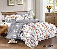 Постельное белье Selena сатин Карта 300505 Полуторный комплект