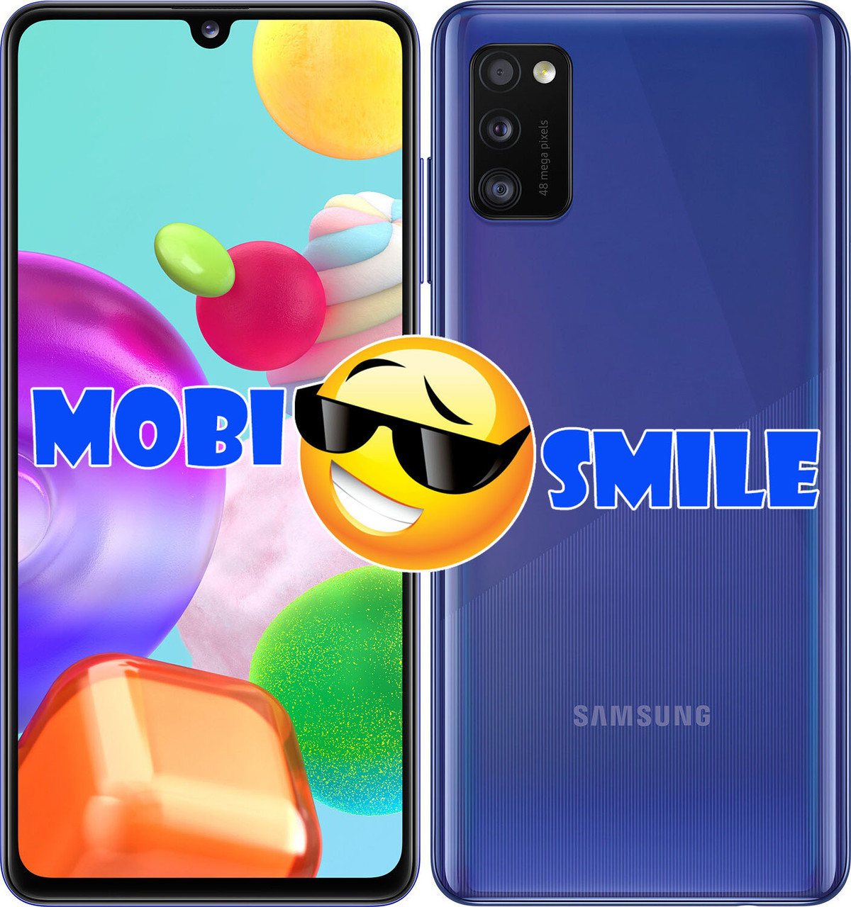 Смартфон Samsung Galaxy A41 4/64GB Blue (SM-A415FZBDSEK) ОРИГИНАЛ Гарантия 12 месяцев
