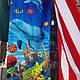 Пляжное полотенце якорьные и другие 1.40×70, фото 5