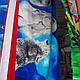 Пляжное полотенце якорьные и другие 1.40×70, фото 3