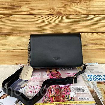 Женская стильная сумка через плечо David Jones