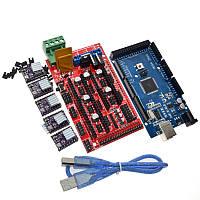 Контроллер Arduino Mega 2560 + RAMPS 1.4 + драйвера DRV8825