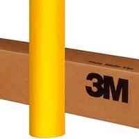 Желтая матовая пленка 3M 1080 Matte Bright Yellow, фото 1