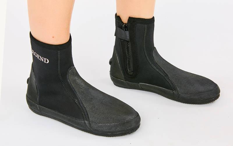 Ботинки для дайвинга LEGEND PL-DNS0329 (неопрен, резина, р-р M-XXL, EU-40-46, RUS-40-45, черный)