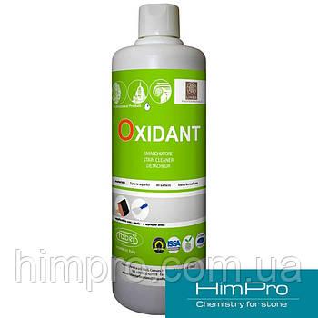 OXIDANT 1L Продукт для удаления пятен от сырости, пожелтения, танинов и других стойких пятен.