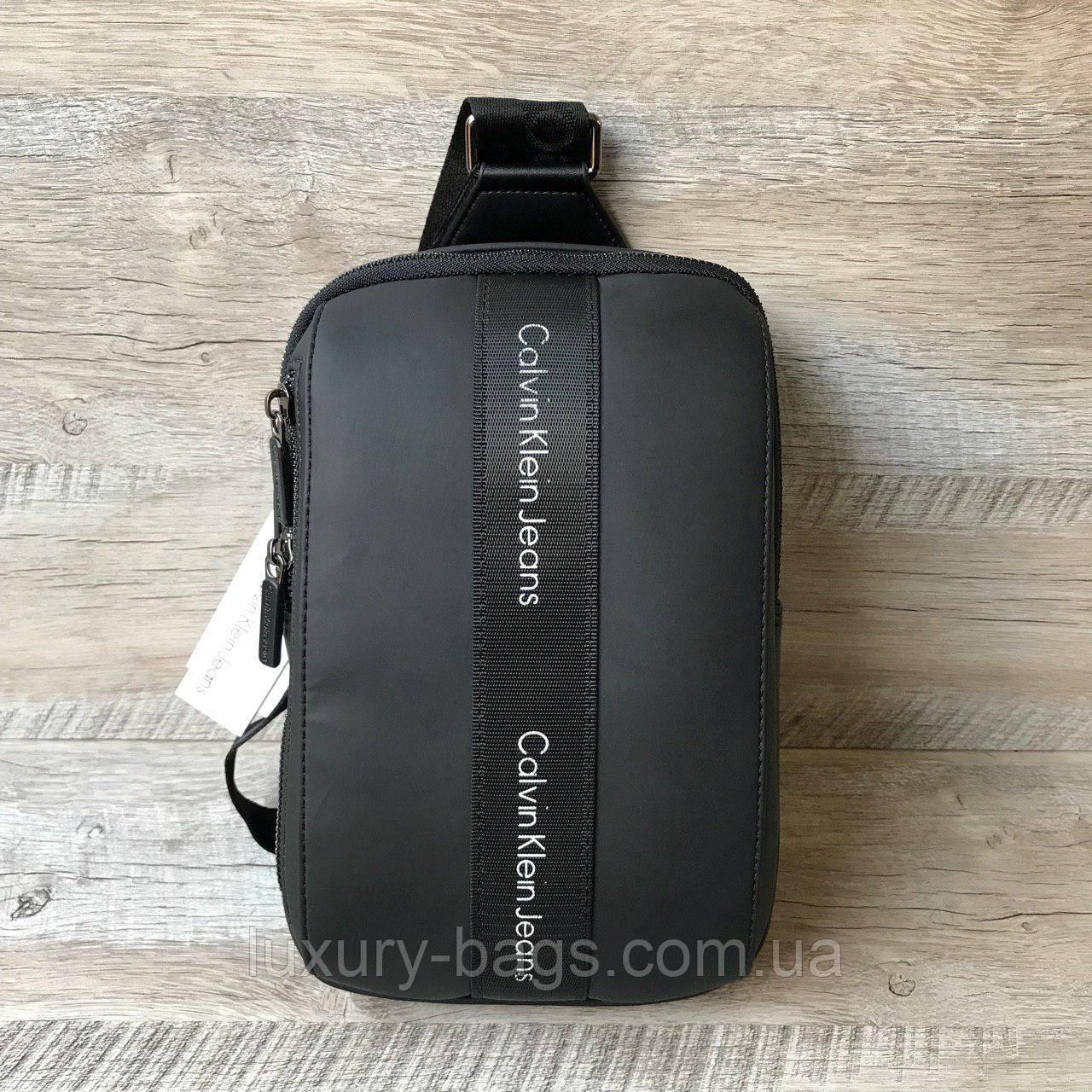 Чоловіча нагрудна сумка слінг Calvin Klein
