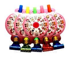 """Язички гудки """"Ляльки Лол"""" рожеві ( упаковка 5 штук)"""