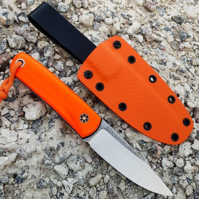 Нож ручной работы Right hand (сталь N690)