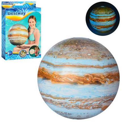 Мяч Bestway 31043 Юпитер 61 см надувной от 2 лет, фото 2