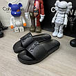 Мужские сандали Ysl Jimmy Sandals In Leather Black 43 Размер, фото 3
