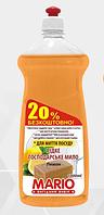 Хозяйственное моющее средство с запахом лимона  Mario Марио 1л
