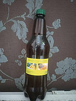 Льняное масло 1 л бутылка с воском для пропитки дерева - Упаковка 2 л, фото 1