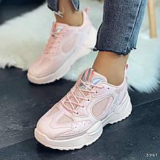 Кросівки жіночі рожеві. Кросівки жіночі з еко шкіри. Кеди жіночі. Мокасини жіночі. Кріпери, фото 2