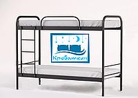Двухъярусная металлическая кровать Relax Duo-2 (Релакс Дуо-2) 80х190см Метакам