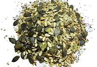 Салатная смесь семян  с травами. RAW