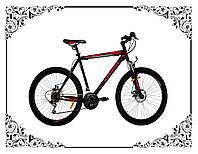 Велосипед Azimut Energy 26 GD+ (черно-красный)