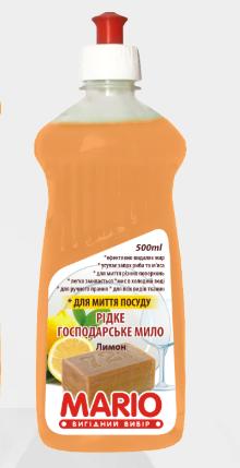 Хозяйственный моющее средство с лимоном Марио Mario 500 мл