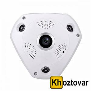 Панорамная камера видеонаблюдения Microsd VR360 | Потолочная