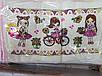 Кухонное полотенце велюр-махра Кошки 25/50 роз. 20 шт в уп, фото 3