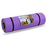 Коврик туристический (каремат) двухслойный 12мм SP-Planeta TY-3748 (пенополиэтилен, размер 1,8мх0,6мх1,2см, цвета в ассортименте), фото 3