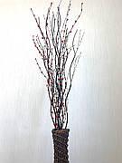 Салекс декоративний. Декор в підлогову вазу (150 см)