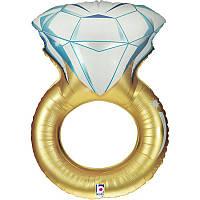"""Фольгированный шар """"Обручальное кольцо"""", 84 см, Grabo"""