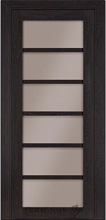 Дверь межкомнатная Terminus Модель 307 цвет Венге (застекленная)