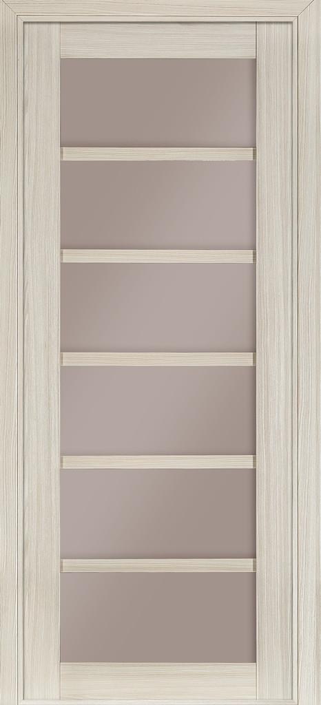 Дверь межкомнатная Terminus Модель 307 цвет Мелинга (застекленная)