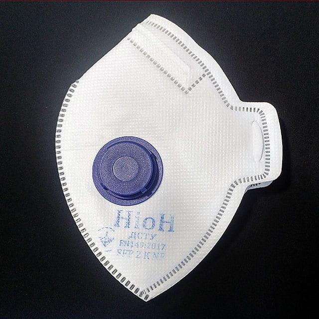 Защитная маска Неон К FFP2, с клапаном