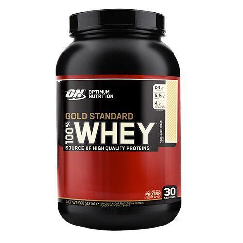 ON 100% Whey Gold Standard 907 грамм, Двойной шоколад, 920 грамм