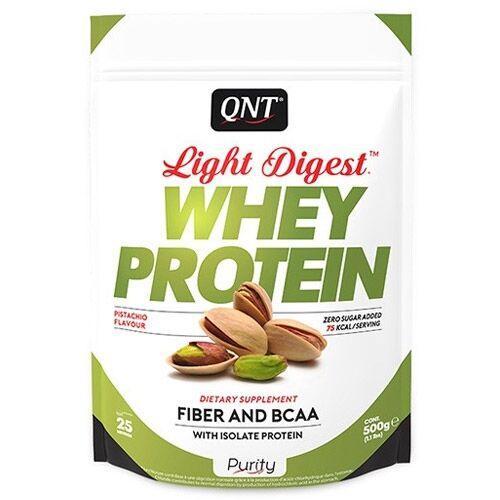 QNT Light Digest Whey Protein 500 грамм, Белый Шоколад