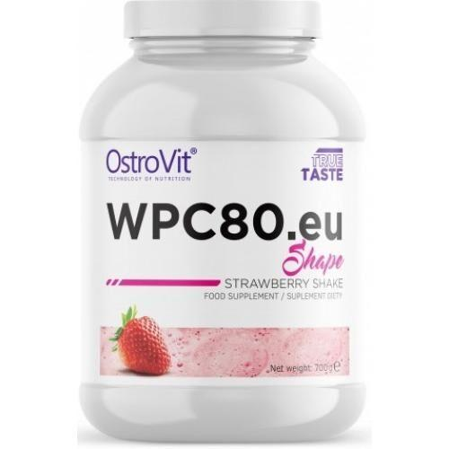 Протеин, Ostrovit WPC80.Eu Shape 700 грамм, Клубника