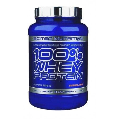 Протеин,Scitec Nutrition 100% Whey Protein 920 грамм, Белый Шоколад