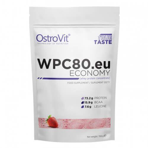 OstroVit WPC 80 Economy 700 грамм, Клубника