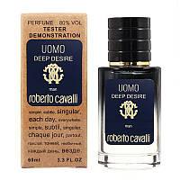 Roberto Cavalli Uomo Deep Desire TESTER LUX, мужской, 60 мл