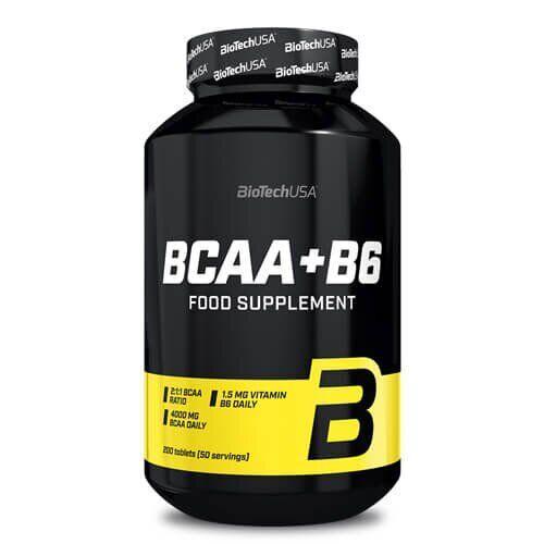 БЦАА+Б6 Биотеч, Biotech USA BCAA+B6 200 таб