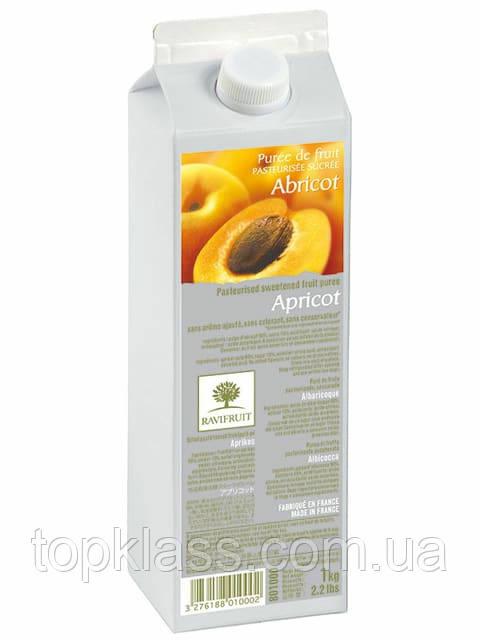 Абрикос пюре пастеризованное 90% 1л, Ravifruit Франция